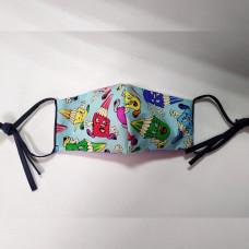 Санитарно-гигиеническая маска с принтом