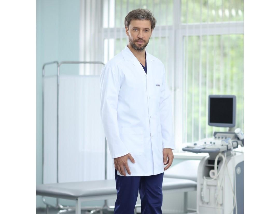 Мужской медицинский халат Medical Service укороченный (AYMAN 195) 14