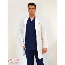 Мужской медицинский халат Модный Доктор (VOGUE) 2970у-М