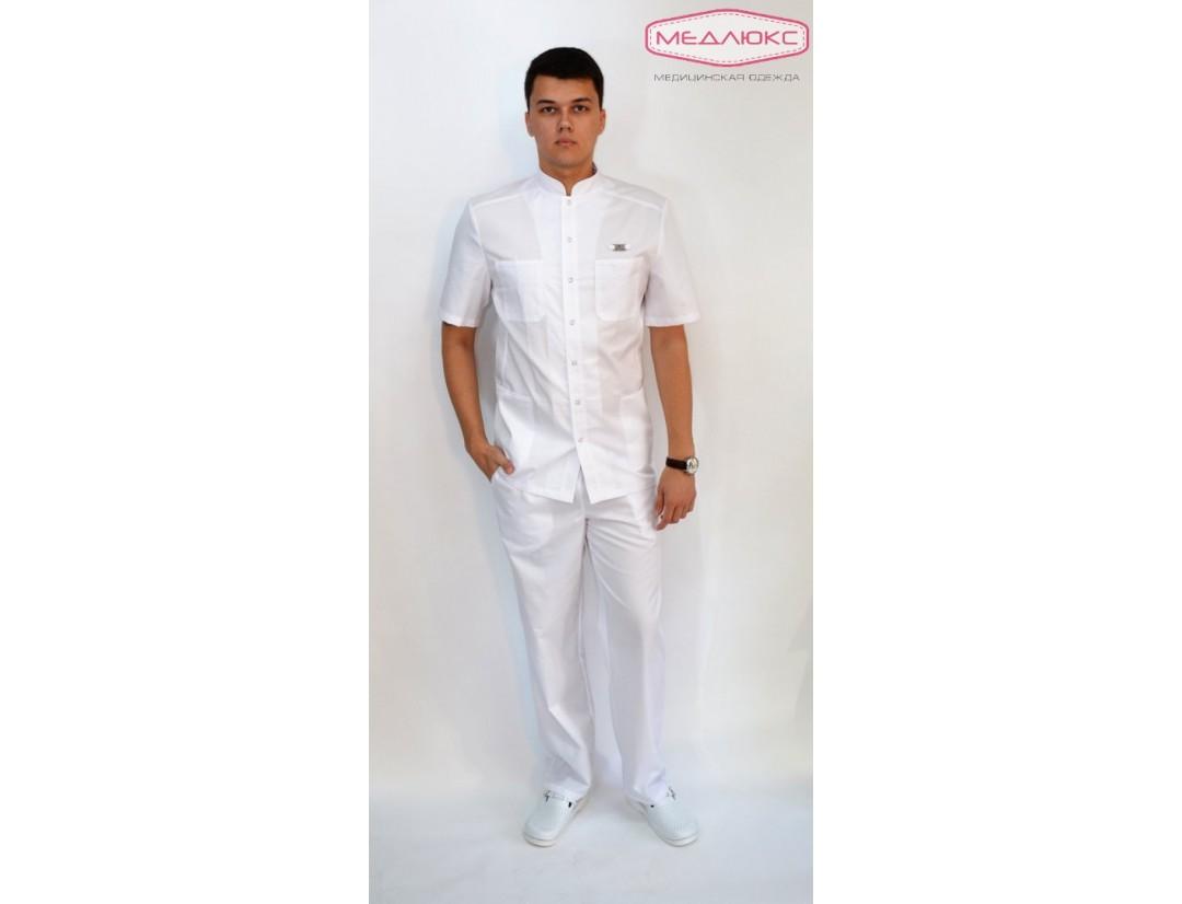 Мужской медицинский блузон Модный Доктор (MILANO) 2911б-М