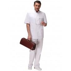 Мужской медицинский блузон Модный Доктор (VOGUE) 2921Аб-М