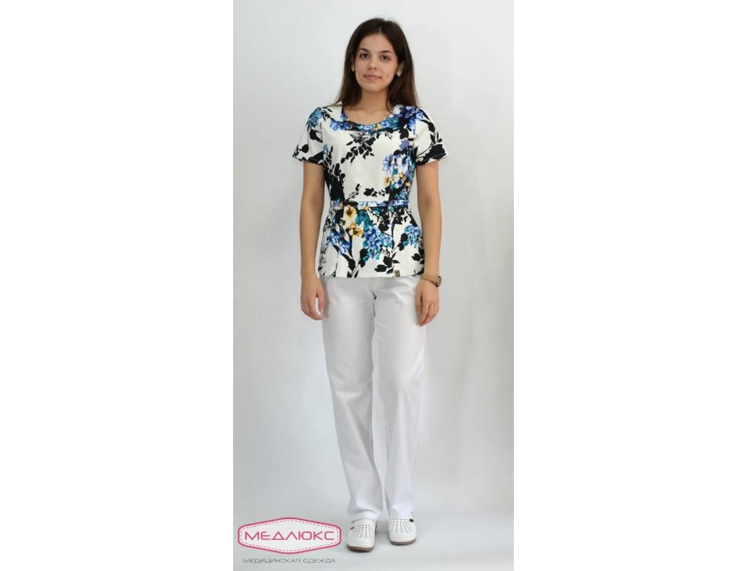 Женские медицинские брюки Модный Доктор (VOGUE) 7940-M