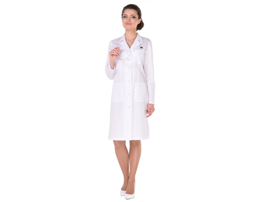 Женский медицинский халат Модный Доктор (ICEBERG) 540у-М