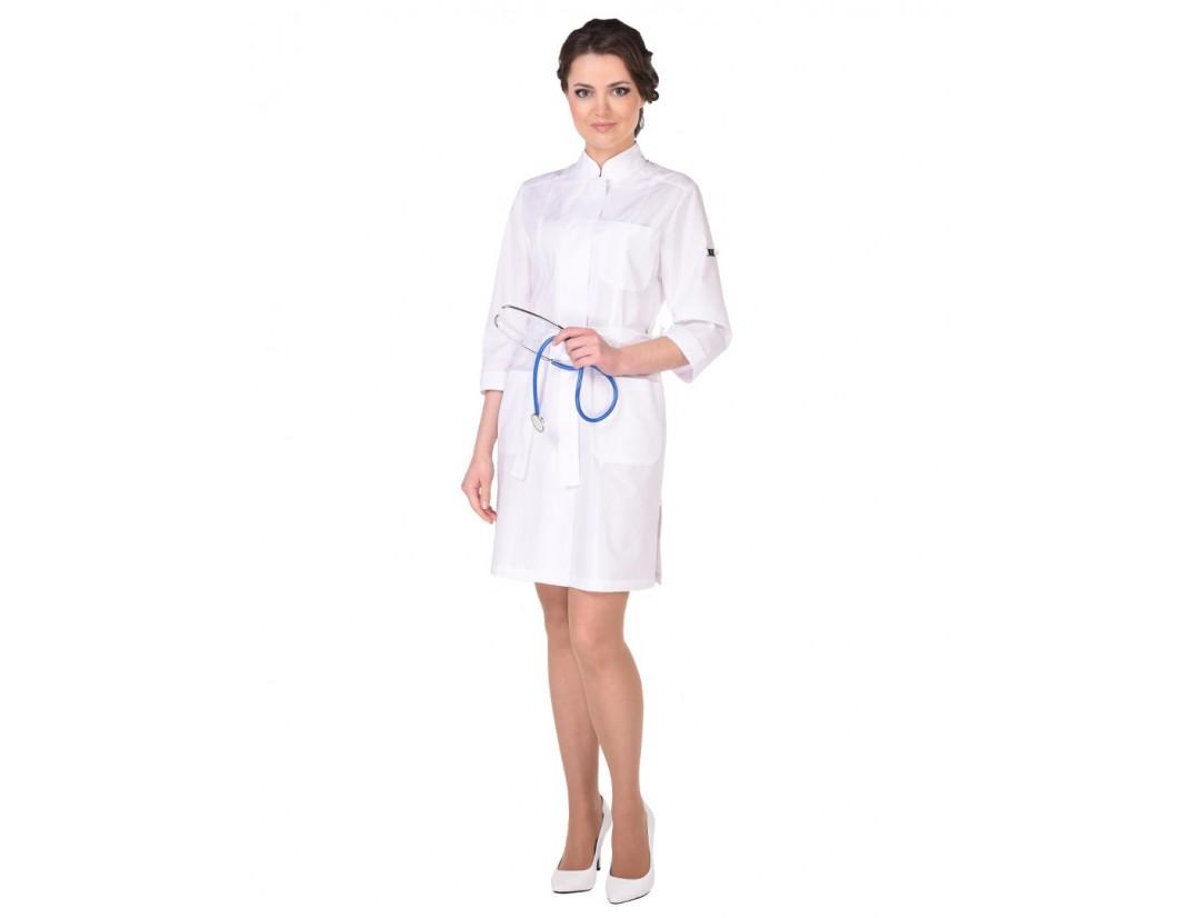 Женский медицинский халат Модный Доктор (ICTBERG) 452у-М