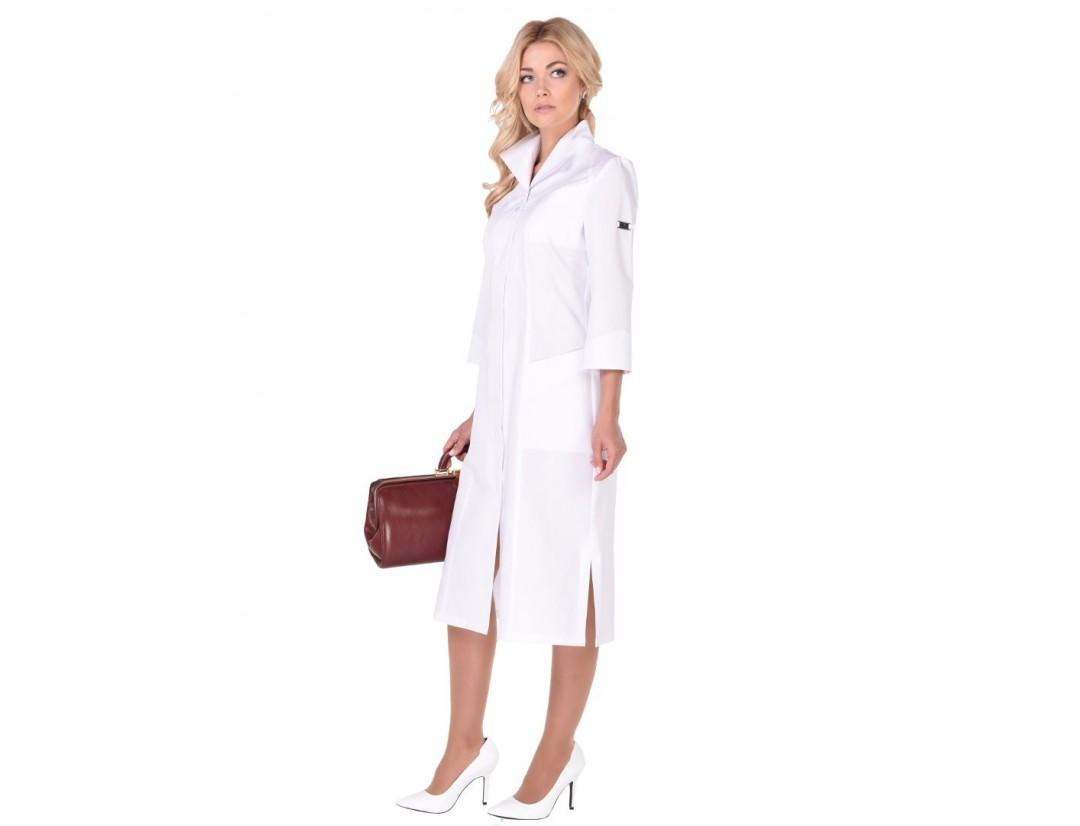 Женский медицинский халат Модный Доктор (VOGUE) 10052-М