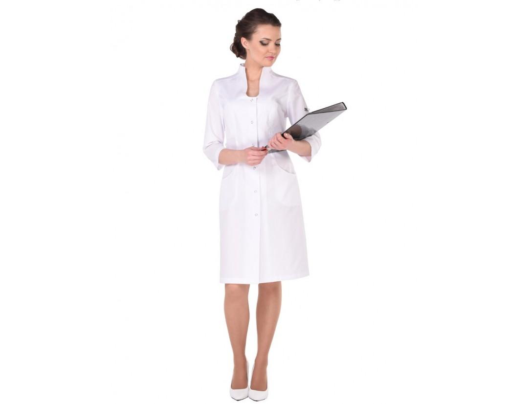 Женский медицинский халат Модный Доктор (VOGUE) 5342у- М