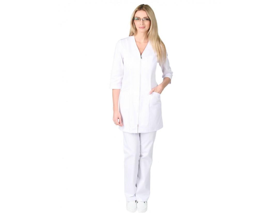 Женский медицинский халат Модный Доктор (VOGUE) 842-M/1Zm