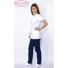 Женская медицинская блуза 482М