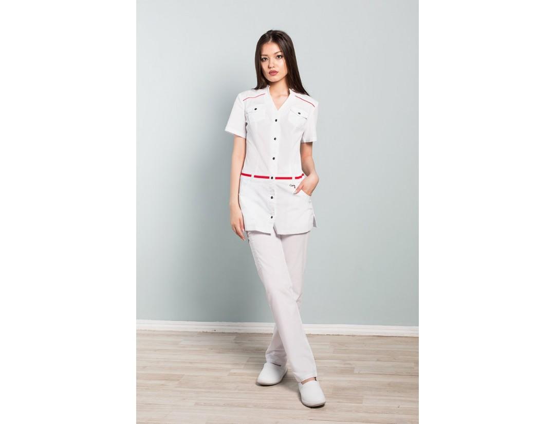 Женская медицинская куртка CaPriz (Сатори Экстрастрейч) 21-2146Z