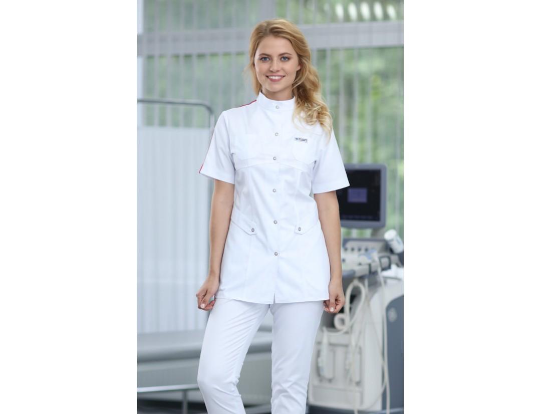 Женская медицинская куртка Medical Service (AYMAN 195) Триколор 62RF