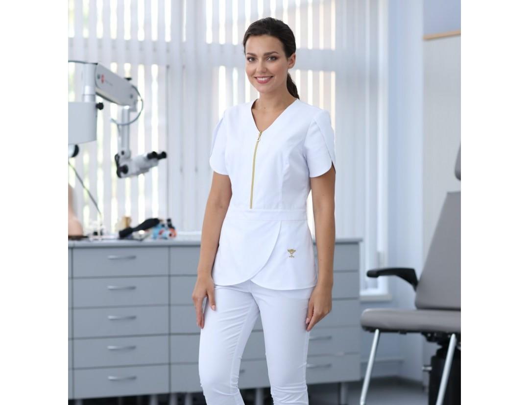 Женская медицинская куртка Medical Service (FLEXIMED) 4104W