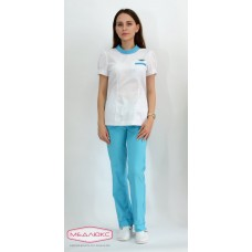 Женский медицинский блузон Модный Доктор (VOGUE) 10521-МCmбKn