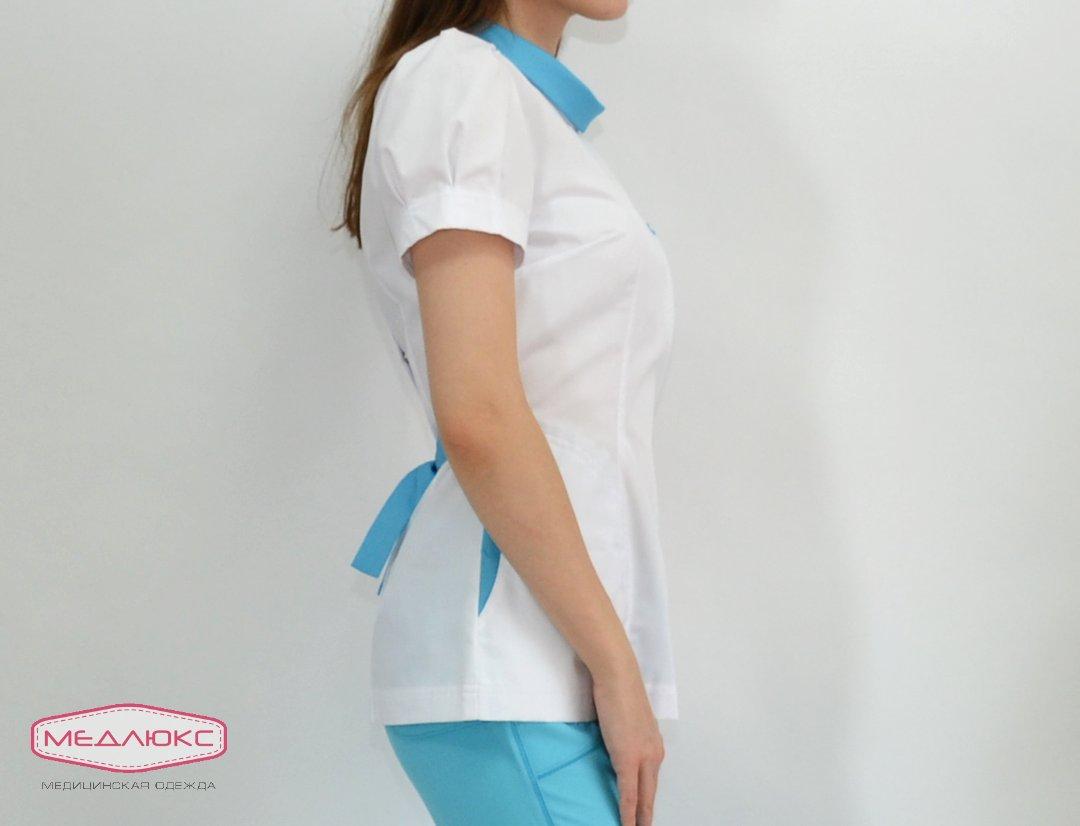 f1a86571a197 Женский медицинский блузон Модный Доктор (VOGUE) 10521-МCmбKn купить ...