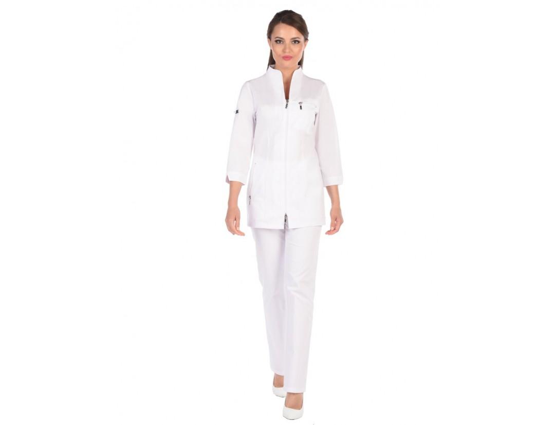 Женский медицинский блузон Модный Доктор (Vogue) 5012Zб-М