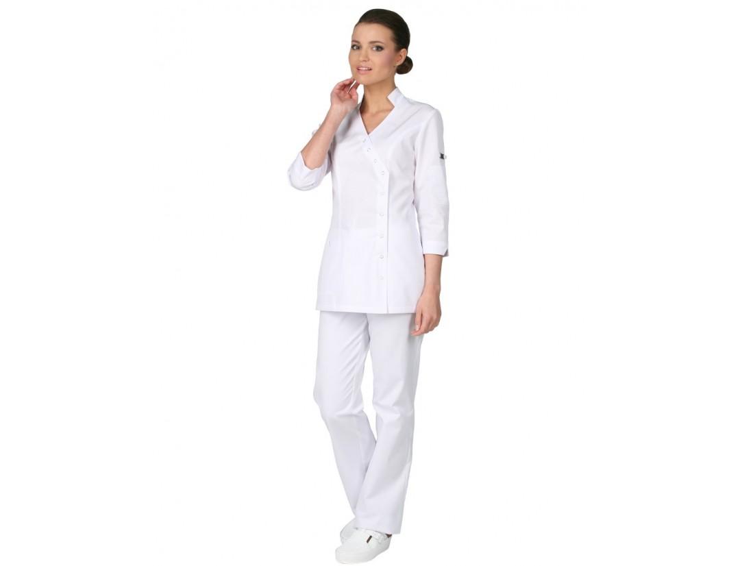 Женский медицинский блузон Модный Доктор (Vogue) 852б-M